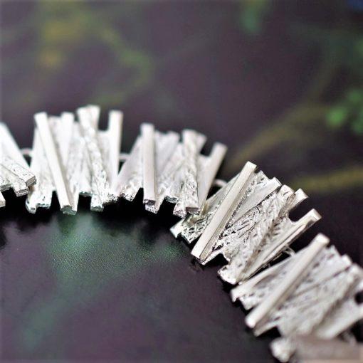 Crossed Lines Bracelet