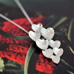 Love Heart Cluster Pendant