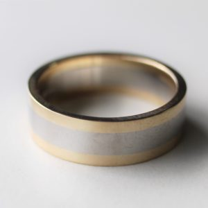 Bespoke mans wedding band
